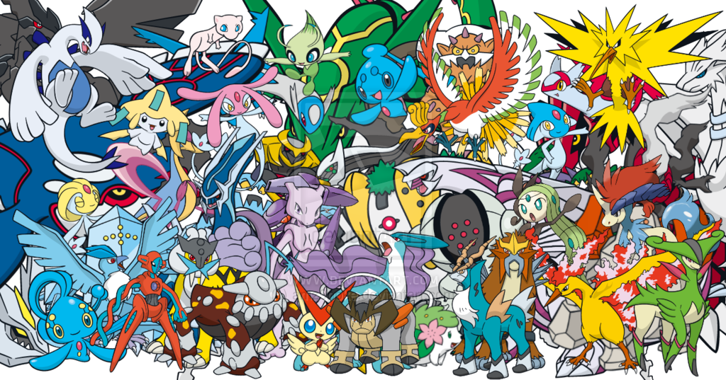 all legendary pokemon in pokemon platinum